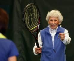 Pamplin Media Group - Centenarian's secret: cheese, tennis and ...