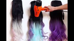 Heat Activated Paint Heat Sensitive Thermochromic Magic Color Changing Hair Extensions
