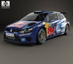 Volkswagen Polo R WRC Racecar 2015 3D model - Hum3D