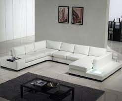 modern leather sofa. Image Of: Modern White Leather Sofa