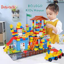 Bộ Đồ Chơi Lắp ghép Lego Duplo Kid House 238 Chi Tiết Cho Bé