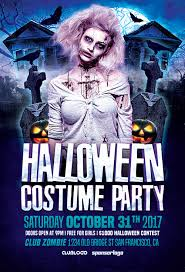 Costume Contest Flyer Template Halloween Costume Party Flyer Template Flyer For Halloween