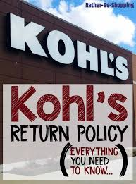 kohl s return policy here s how it works tips for success