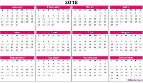 excel 2018 yearly calendar work schedule template excel with 2018 yearly calendar printable