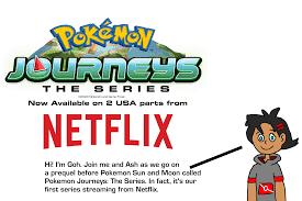 Pokemon Sun And Moon Series Netflix
