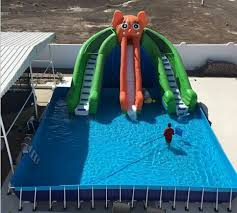 inflatable above ground pool slide. Intex Above Ground Pools Inflatable Pool Slide C