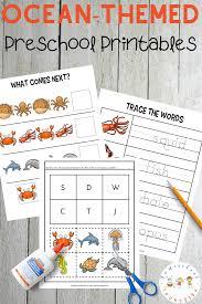 Free Printable Ocean Worksheets For Preschool Pack Worksheet