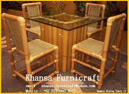 bamboo dining chairs. Bamboo Dining Table And Chairs Regarding Stunning Room Ideas Home Design 12