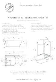 tub rough in standard tub diverter rough in height