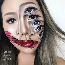 amazing face painting makeup portratis 9