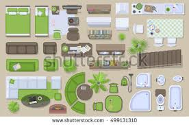13340 Floor Plan Stock Illustrations Cliparts And Royalty Free Furniture Icons For Floor Plans
