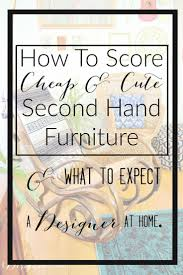 Preloved Bedroom Furniture 17 Best Ideas About Second Hand Furniture On Pinterest Second