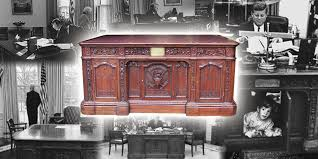 white house oval office desk. White House Oval Office Resolute Desk D