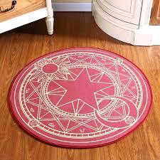 kids circle rug pink magic circle children round kids bedroom velvet carpets cartoon baby crawl rugs kids circle rug