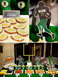 image of football party decorations diy
