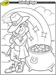 St Patricks Day Coloring St Patricks Day Crayola Ca