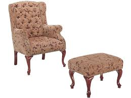 Living Room Chair Perfect Chairs With Ottomans For Living Room Homesfeed