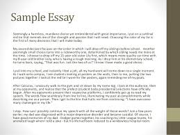 getting to know you fall personal statement workshop 7 sample essay