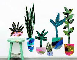 suburban jungle decals  on cactus wall art nz with suburban jungle decals set 1 your decal shop nz designer wall