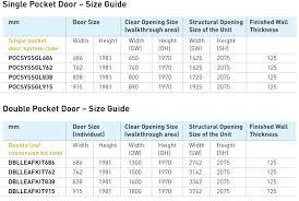 pocket door frame sizes double pocket door kits set requires two single doors plus double leaf pocket door frame sizes double