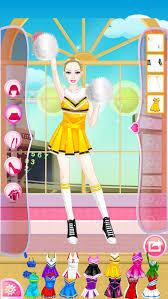 mafa cheerleader dress up screenshot 5