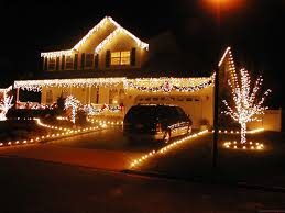 xmas lighting ideas. Trend Decoration How To Decorate Your Home For Christmas Party Decorations Front Door With Colorful Ribbon Outdoor Ideas Decorating Landscape Design Xmas Lighting A