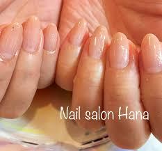 ピンクベージュグラデーション Nail Salon Hana