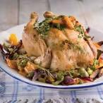 Kuidas kokk kana kartulitega ahju