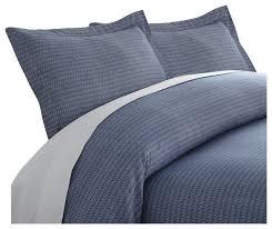 premium ultra soft blue diamond 3 piece duvet cover set contemporary duvet covers and duvet sets by ienjoy home