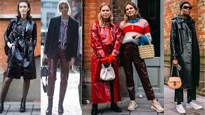 shiny leather pants and coats photos chiara marina grioni fashionista 2