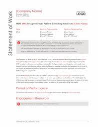 It Statement Of Work Statement Of Work Red Design