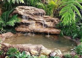 majestic falls beautiful pond waterfalls water garden oasis kits