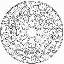 Small Picture Printable Intricate Mandala Coloring Pages Instant Download PDF