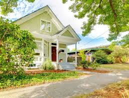 small cute craftsman american house wth green and white and red within phenomenal white home craftsman