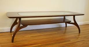 coffee table glass top wood base buetheorg