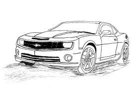 Small Picture Free Chevrolet Camaro coloring pages to print online