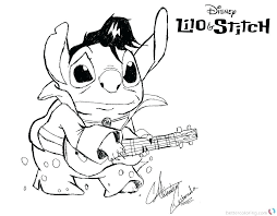 Lilo And Stitch Coloring Pages Lilo Stitch Coloring Pages Lilo And