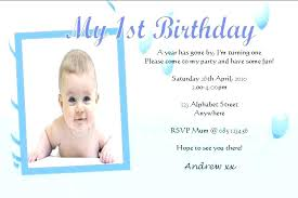 birthday invitation card for baby free boy template invites excellent design by f 1st invitations templa
