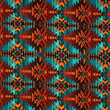 Southwest Quilt Patterns Magnificent Timeless Treasures Southwest Indian Blanket Print Multi Fabric