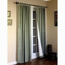 Patio Door Curtain Sliding Door Curtains Blackout Patio Window Treatment Ideas