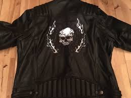 harley davidson leather jacket xl willie g