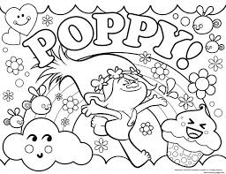 Trolls Coloring Sheets Poppy And Branch Trolls Coloring Pages Kids N