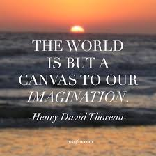 Henry Thoreau Quotes Extraordinary Henry David Thoreau Quote About Imagination Rossi Fox