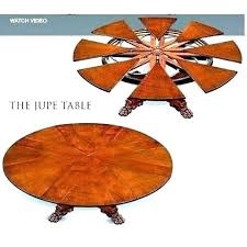 expanding circular table expanding circular table round table that expands expanding round table expanding circular table