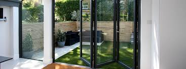 glass stacking doors at crystal showers frameless third slide home karos wood