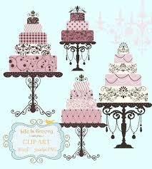 elegant wedding cake clipart. Unique Clipart Elegant Lilac Pink Plum Wedding Cakes  4 Large Multi Tier U0026 Stands  Unique Clipart In Elegant Wedding Cake Clipart W