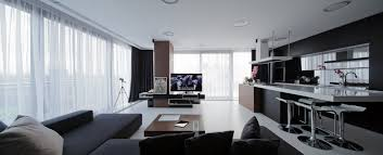 open plan living room kitchen interior design ideas living room