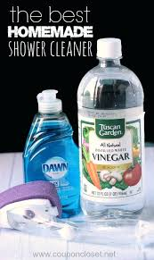 cleaning glass shower doors with vinegar and dawn cleaning glass shower