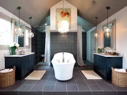 pendant light over bathtub