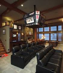 man room furniture. my favorite basement omit scoreboard even though itu0027s cool and theatre seats look at all those for a movie room in our man furniture